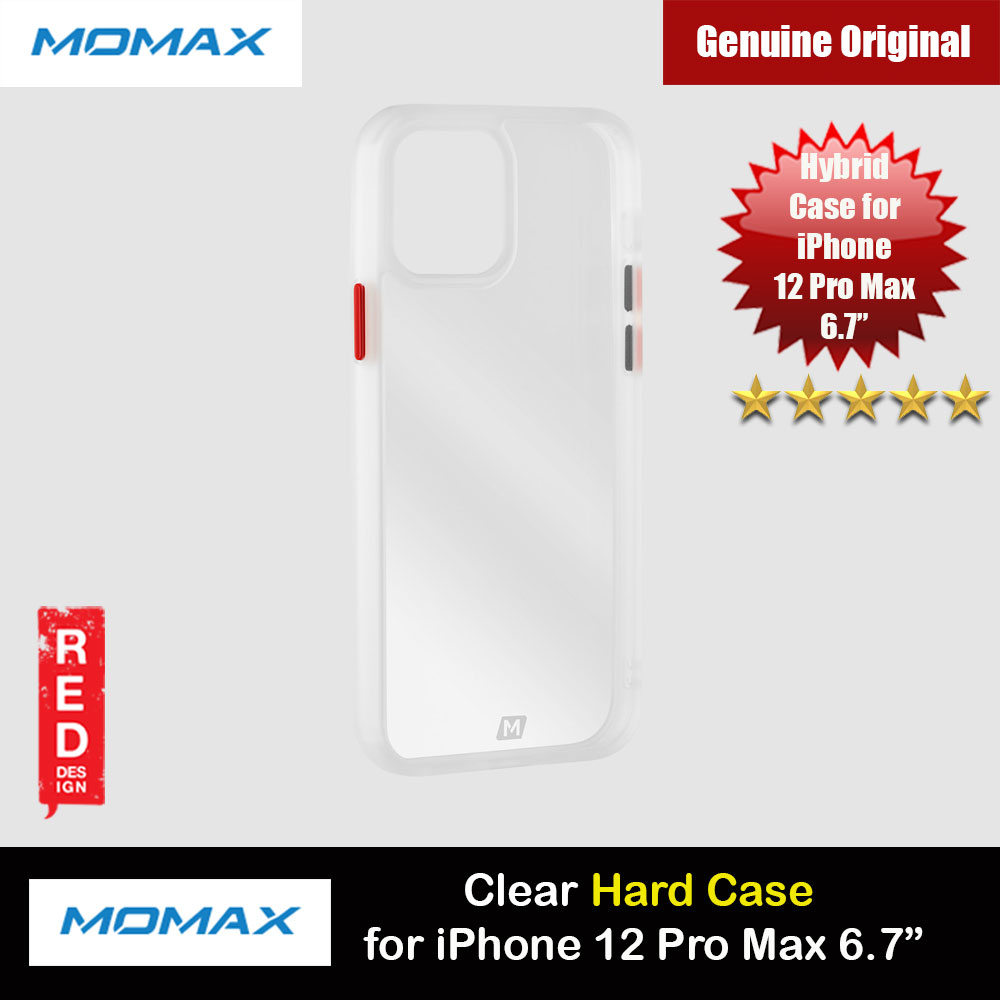 Picture of Momax Hybrid Hard Protection Case for iPhone 12 Pro Max 6.7 (Clear) Apple iPhone 12 Pro Max 6.7- Apple iPhone 12 Pro Max 6.7 Cases, Apple iPhone 12 Pro Max 6.7 Covers, iPad Cases and a wide selection of Apple iPhone 12 Pro Max 6.7 Accessories in Malaysia, Sabah, Sarawak and Singapore