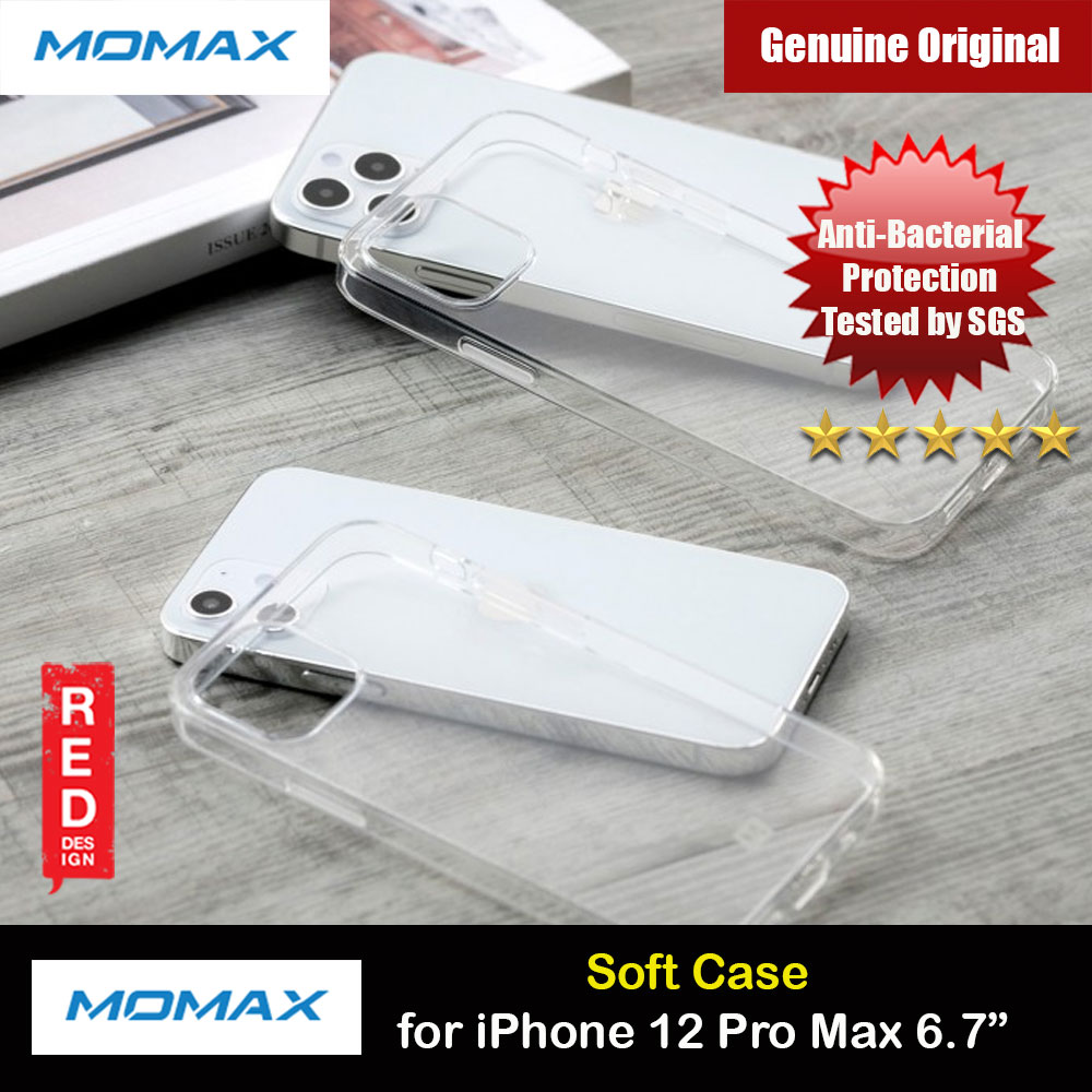 Picture of Momax Yolk Slim Soft Protection Case for iPhone 12 Pro Max 6.7 (Clear) Apple iPhone 12 Pro Max 6.7- Apple iPhone 12 Pro Max 6.7 Cases, Apple iPhone 12 Pro Max 6.7 Covers, iPad Cases and a wide selection of Apple iPhone 12 Pro Max 6.7 Accessories in Malaysia, Sabah, Sarawak and Singapore