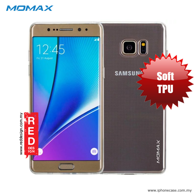 save off c8adf 0d023 Momax Transparent Ultra Thin Soft Cover Case for Galaxy Note 7 Note FE -  Clear