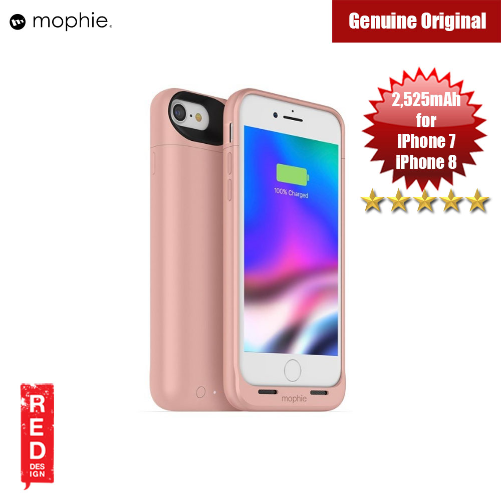 Picture of Mophie Juice Pack Air Battery Case for  Apple iPhone 7 iPhone 8 4.7 2525mAh (Rose Gold) Apple iPhone 8- Apple iPhone 8 Cases, Apple iPhone 8 Covers, iPad Cases and a wide selection of Apple iPhone 8 Accessories in Malaysia, Sabah, Sarawak and Singapore