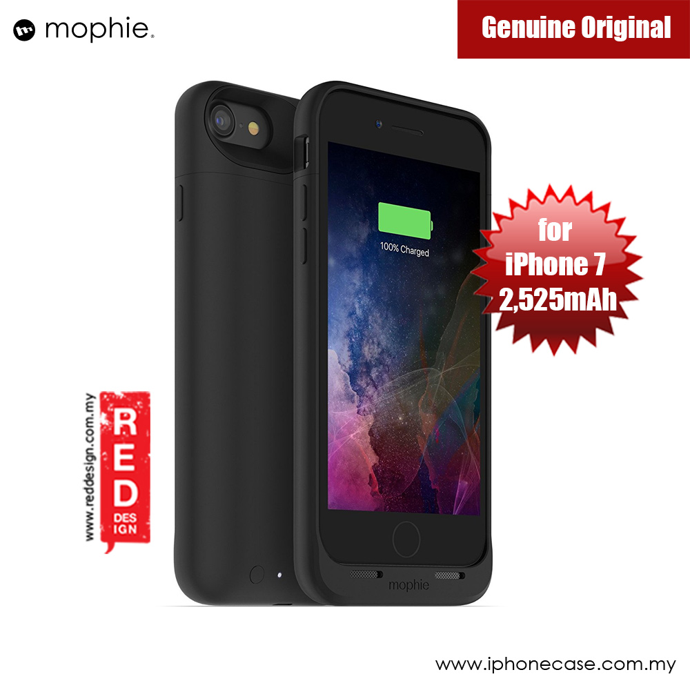 Picture of Apple iPhone 7 4.7 Case | Mophie Juice Pack Wireless Apple iPhone 7 4.7 Battery Case 2,525mAh (Black)