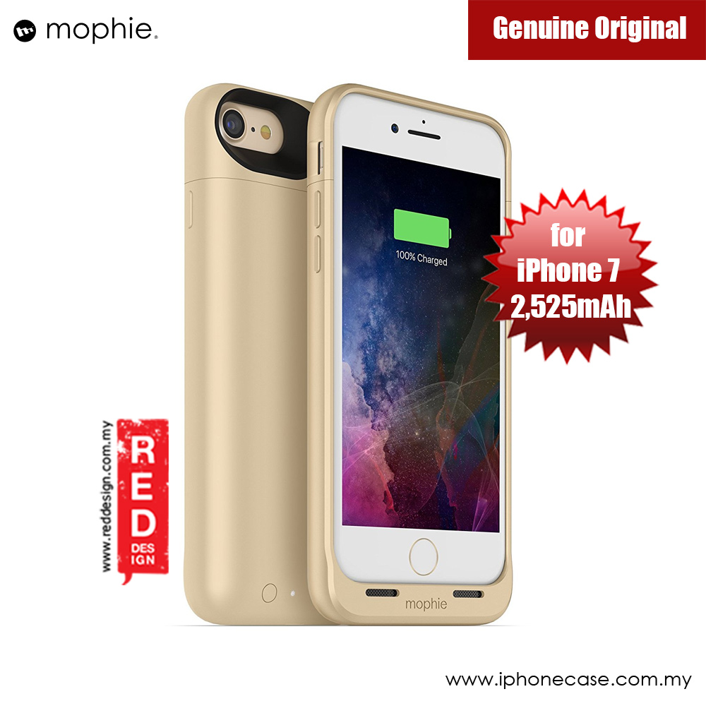 Picture of Mophie Juice Pack Wireless Apple iPhone 7 4.7 Battery Case 2,525mAh (Gold) Apple iPhone 7 4.7- Apple iPhone 7 4.7 Cases, Apple iPhone 7 4.7 Covers, iPad Cases and a wide selection of Apple iPhone 7 4.7 Accessories in Malaysia, Sabah, Sarawak and Singapore