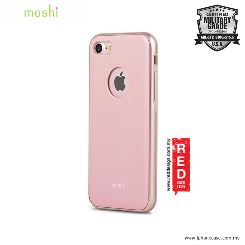 Picture of Moshi iGlaze Slim Lightweight Back Cover Case for Apple iPhone 7 - Blush Pink Apple iPhone 8- Apple iPhone 8 Cases, Apple iPhone 8 Covers, iPad Cases and a wide selection of Apple iPhone 8 Accessories in Malaysia, Sabah, Sarawak and Singapore