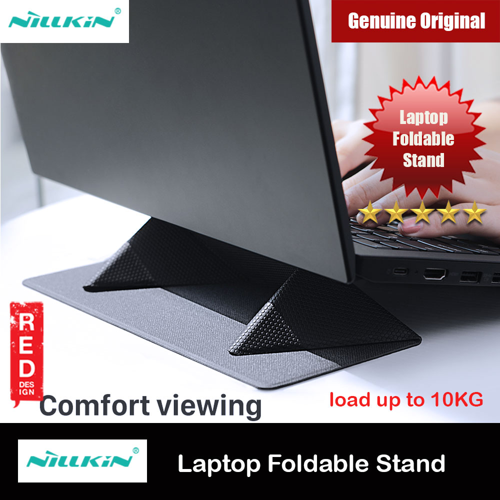 Picture of Nillkin Ascent Stand Laptop Slim Thin Foldable Stand Notebook Macbook Foldable Stand for 11 inches to 15 inches Laptop Notebook Macbook (Grey) Red Design- Red Design Cases, Red Design Covers, iPad Cases and a wide selection of Red Design Accessories in Malaysia, Sabah, Sarawak and Singapore
