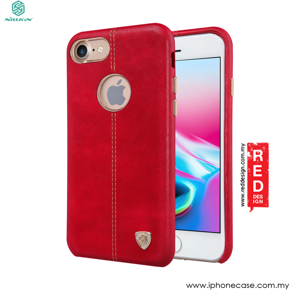 Picture of Nillkin Englon Leather Back Cove Case for Apple iPhone 8 4.7 (Red) Apple iPhone 8- Apple iPhone 8 Cases, Apple iPhone 8 Covers, iPad Cases and a wide selection of Apple iPhone 8 Accessories in Malaysia, Sabah, Sarawak and Singapore