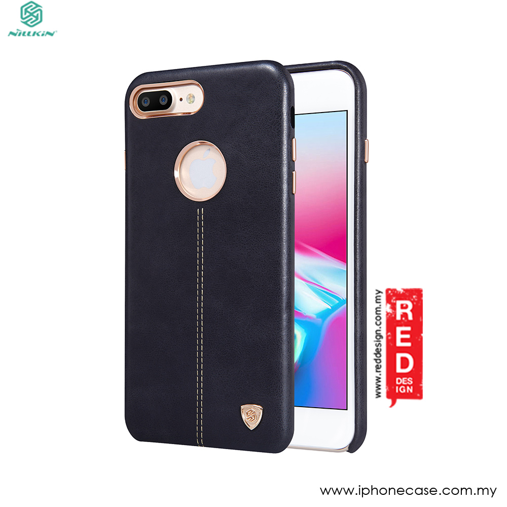 Picture of Nillkin Englon Leather Back Cove Case for Apple iPhone 8 Plus 5.5 (Black) Apple iPhone 8 Plus- Apple iPhone 8 Plus Cases, Apple iPhone 8 Plus Covers, iPad Cases and a wide selection of Apple iPhone 8 Plus Accessories in Malaysia, Sabah, Sarawak and Singapore