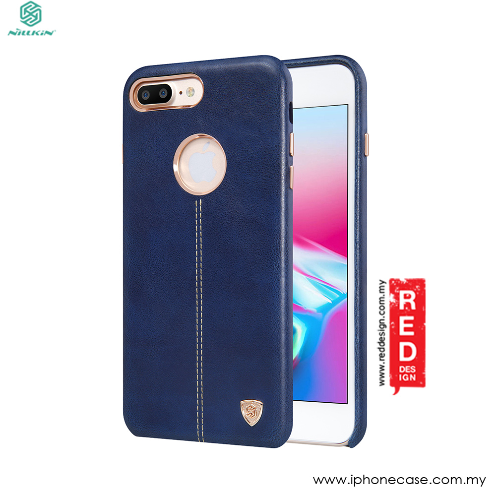 Picture of Nillkin Englon Leather Back Cove Case for Apple iPhone 8 Plus 5.5 (Blue) Apple iPhone 8 Plus- Apple iPhone 8 Plus Cases, Apple iPhone 8 Plus Covers, iPad Cases and a wide selection of Apple iPhone 8 Plus Accessories in Malaysia, Sabah, Sarawak and Singapore