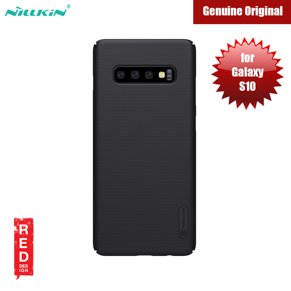 Picture of Nillkin Super Frosted Shield hard cover case for Samsung Galaxy S10 (Black) Samsung Galaxy S10- Samsung Galaxy S10 Cases, Samsung Galaxy S10 Covers, iPad Cases and a wide selection of Samsung Galaxy S10 Accessories in Malaysia, Sabah, Sarawak and Singapore