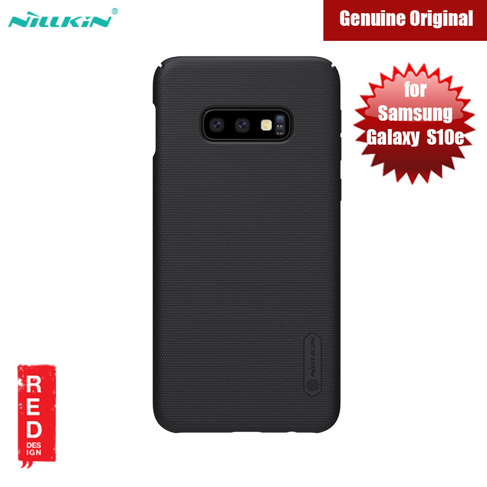 Picture of Nillkin Super Frosted Shield hard cover case for Samsung Galaxy S10e (Black) Samsung Galaxy S10e- Samsung Galaxy S10e Cases, Samsung Galaxy S10e Covers, iPad Cases and a wide selection of Samsung Galaxy S10e Accessories in Malaysia, Sabah, Sarawak and Singapore