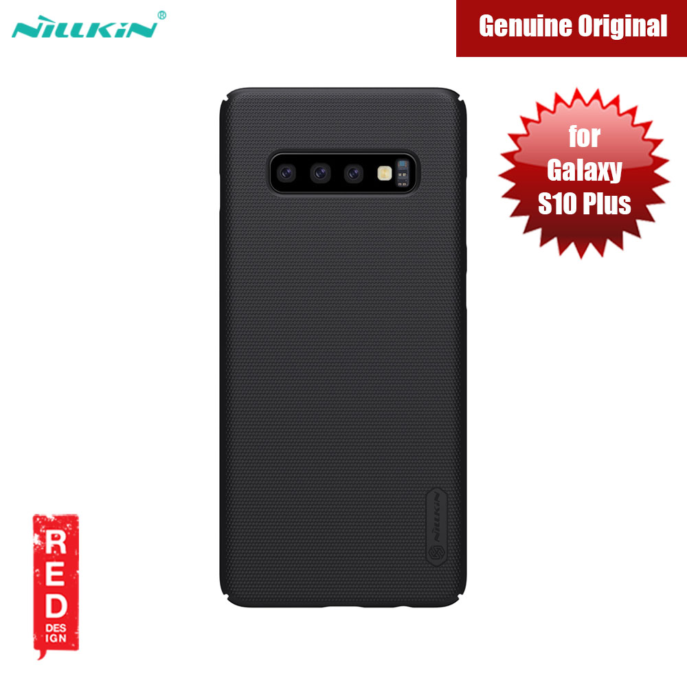 Picture of Nillkin Super Frosted Shield hard cover case for Samsung Galaxy S10 Plus (Black) Samsung Galaxy S10 Plus- Samsung Galaxy S10 Plus Cases, Samsung Galaxy S10 Plus Covers, iPad Cases and a wide selection of Samsung Galaxy S10 Plus Accessories in Malaysia, Sabah, Sarawak and Singapore
