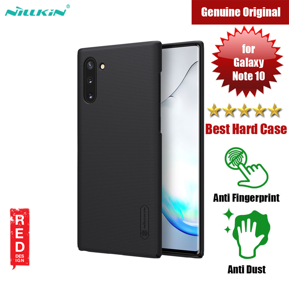 Picture of Nillkin Super Frosted Shield hard cover case for Samsung Galaxy Note 10 (Black) Samsung Galaxy Note 10- Samsung Galaxy Note 10 Cases, Samsung Galaxy Note 10 Covers, iPad Cases and a wide selection of Samsung Galaxy Note 10 Accessories in Malaysia, Sabah, Sarawak and Singapore