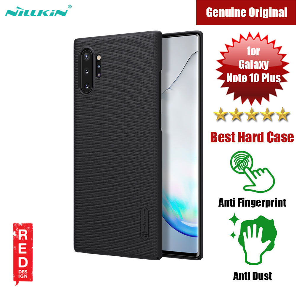 Picture of Nillkin Super Frosted Shield hard cover case for Samsung Galaxy Note 10 Plus (Black) Samsung Galaxy Note 10 Plus- Samsung Galaxy Note 10 Plus Cases, Samsung Galaxy Note 10 Plus Covers, iPad Cases and a wide selection of Samsung Galaxy Note 10 Plus Accessories in Malaysia, Sabah, Sarawak and Singapore