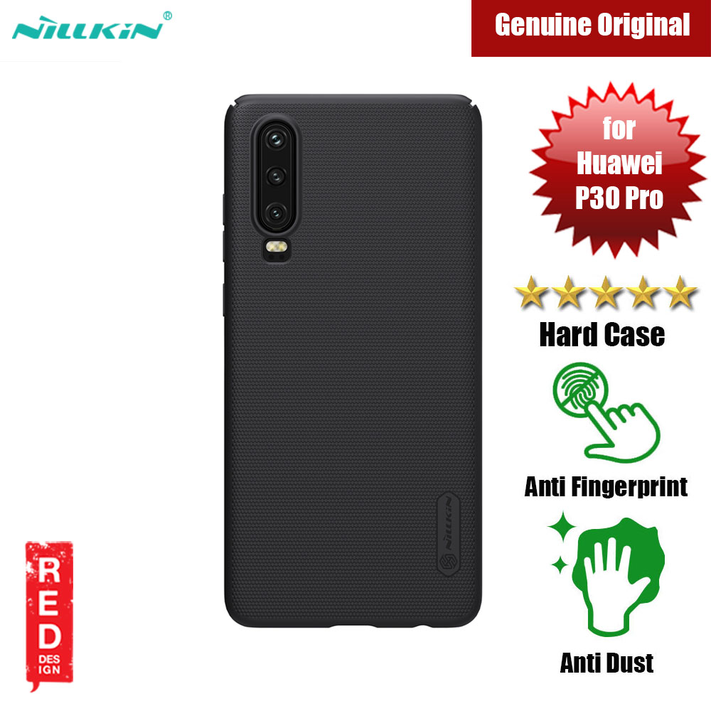 Picture of Nillkin Super Frosted Shield hard cover case for Huawei P30 (Black) Huawei P30- Huawei P30 Cases, Huawei P30 Covers, iPad Cases and a wide selection of Huawei P30 Accessories in Malaysia, Sabah, Sarawak and Singapore