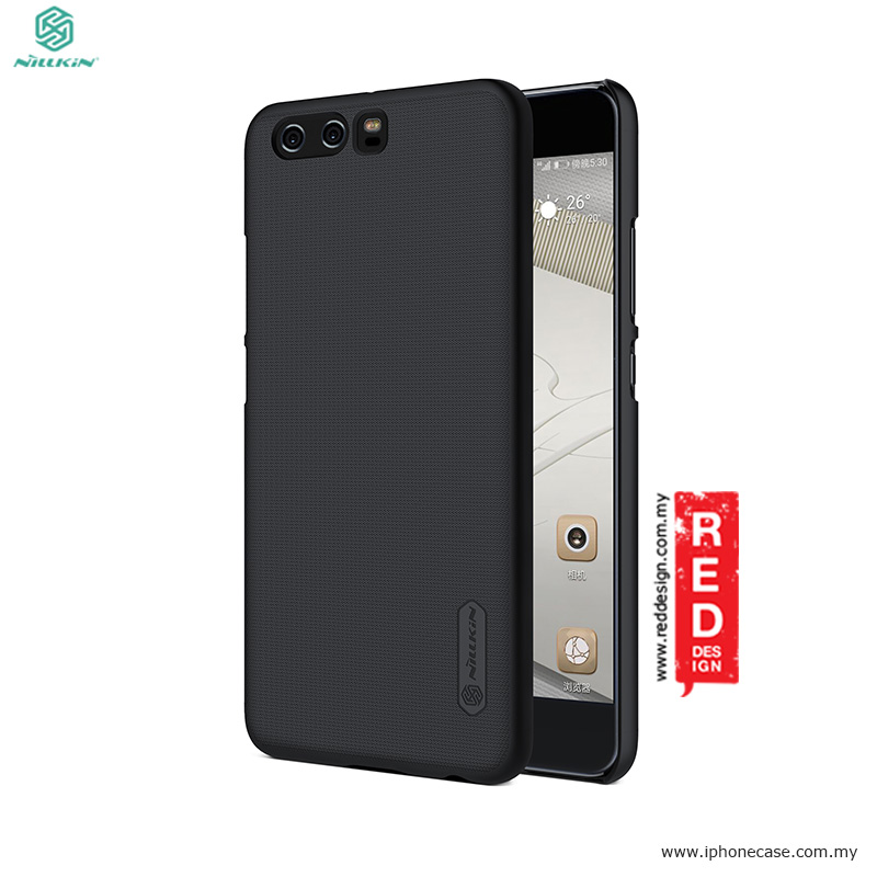 new product ca0a5 add70 Nillkin Super Frosted Shield hard cover case for Huawei P10 Plus 5.5 - Black