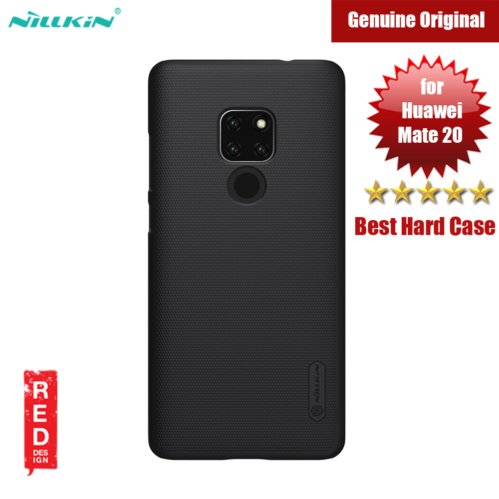 Picture of Nillkin Super Frosted Shield hard cover case for Huawei Mate 20 (Black) Huawei Mate 20- Huawei Mate 20 Cases, Huawei Mate 20 Covers, iPad Cases and a wide selection of Huawei Mate 20 Accessories in Malaysia, Sabah, Sarawak and Singapore