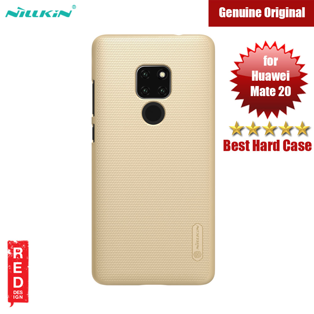 Picture of Nillkin Super Frosted Shield hard cover case for Huawei Mate 20 (Gold) Huawei Mate 20- Huawei Mate 20 Cases, Huawei Mate 20 Covers, iPad Cases and a wide selection of Huawei Mate 20 Accessories in Malaysia, Sabah, Sarawak and Singapore