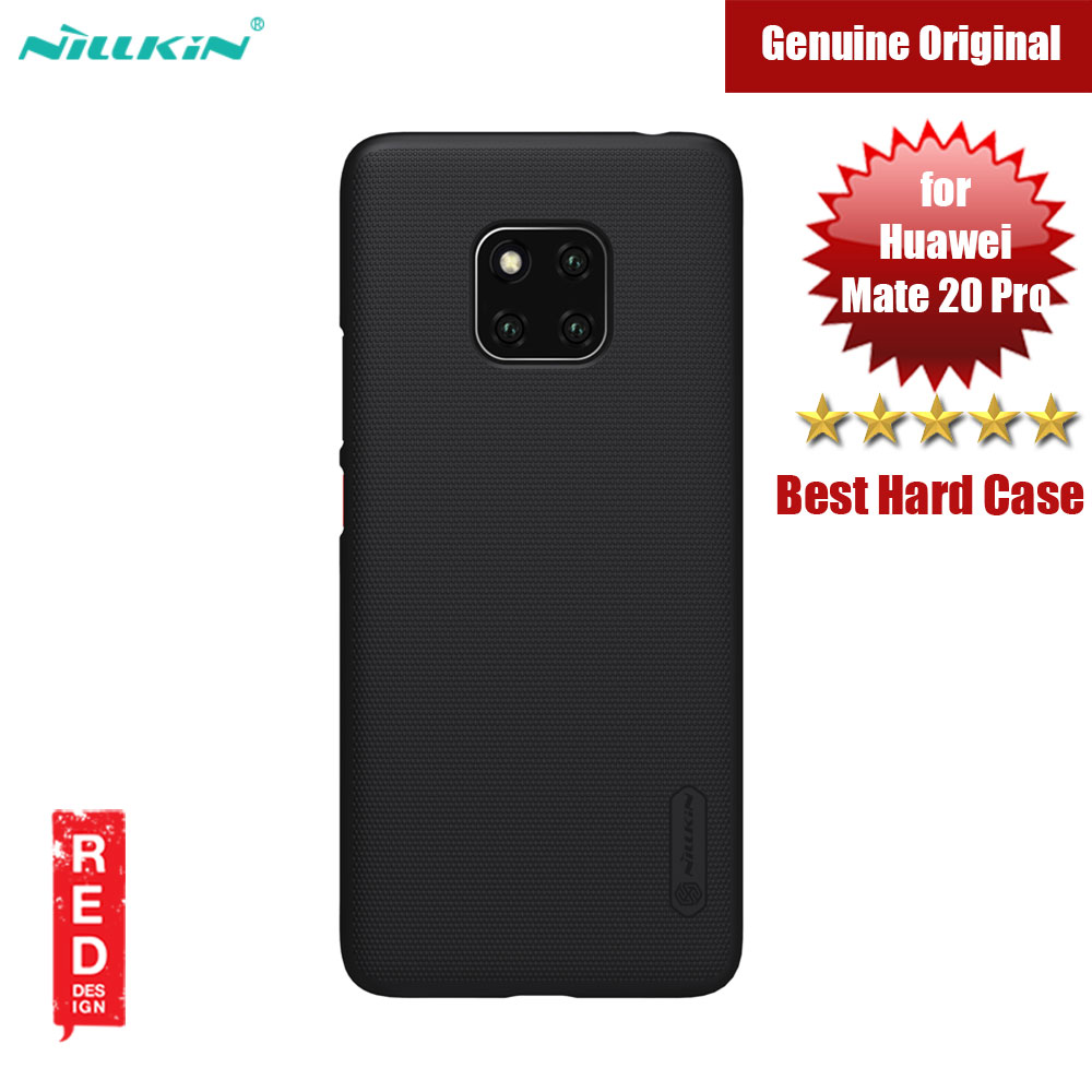 Picture of Nillkin Super Frosted Shield hard cover case for Huawei Mate 20 Pro (Black) Huawei Mate 20 Pro- Huawei Mate 20 Pro Cases, Huawei Mate 20 Pro Covers, iPad Cases and a wide selection of Huawei Mate 20 Pro Accessories in Malaysia, Sabah, Sarawak and Singapore