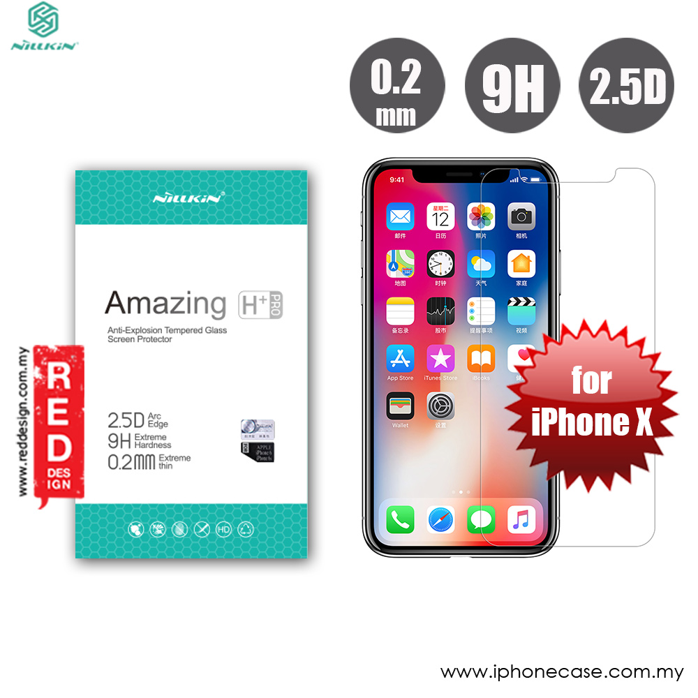 Nillkin Amazing Anti Explosion H Tempered Glass Iphone 7 Spec Dan Gores Huawei P10 Plus Pro 02mm Original Picture Of For Apple X