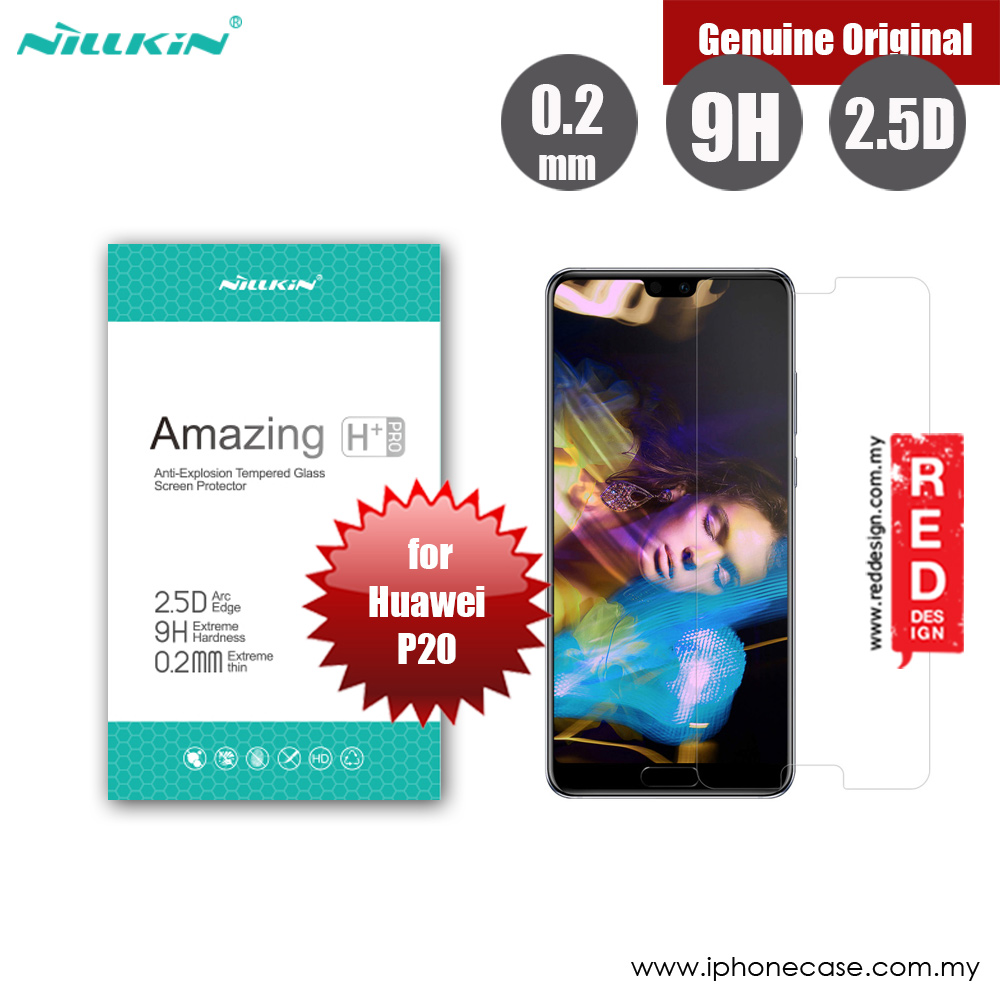 Picture of Huawei P20   Nillkin Amazing H Plus Pro Tempered Glass for Huawei P20 (