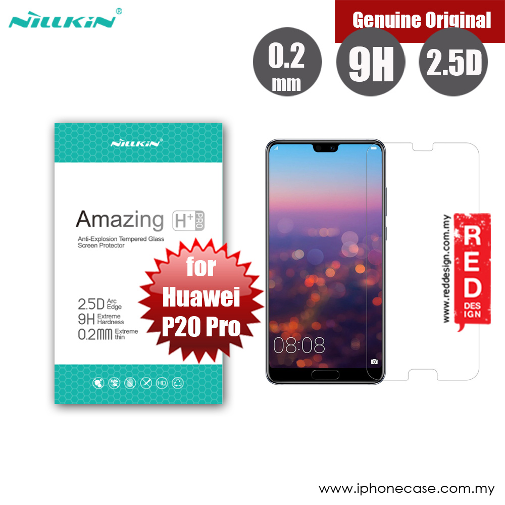 Picture of Nillkin Amazing H Plus Pro Tempered Glass for Huawei P20 Pro (0.2mm  H Plus Pro) Huawei P20 Pro- Huawei P20 Pro Cases, Huawei P20 Pro Covers, iPad Cases and a wide selection of Huawei P20 Pro Accessories in Malaysia, Sabah, Sarawak and Singapore