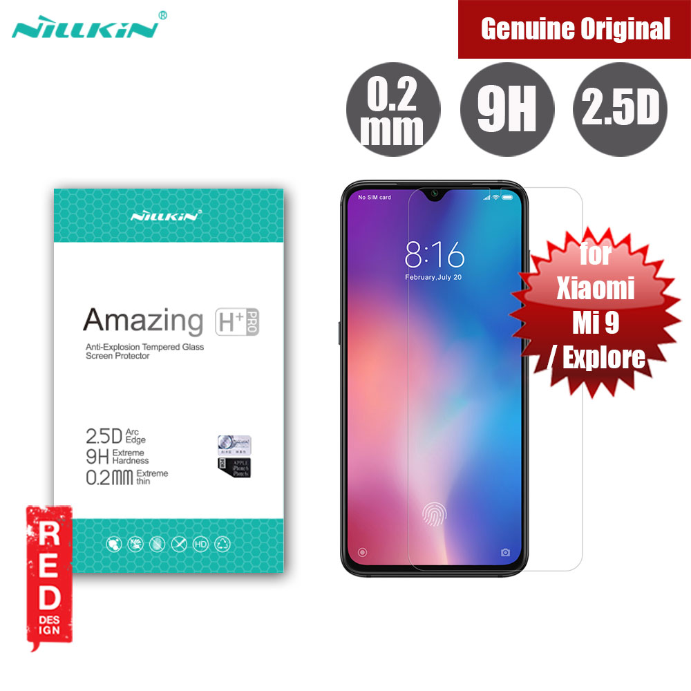 Picture of Nillkin Amazing H Plus Pro Tempered Glass for Xiaomi Mi 9 Mi 9 Explore (0.2mm  H Plus Pro) Xiaomi Mi 9 Explore- Xiaomi Mi 9 Explore Cases, Xiaomi Mi 9 Explore Covers, iPad Cases and a wide selection of Xiaomi Mi 9 Explore Accessories in Malaysia, Sabah, Sarawak and Singapore