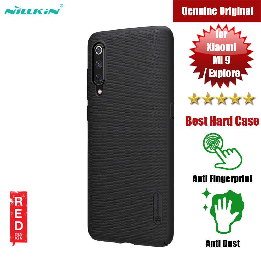 Picture of Nillkin Super Frosted Shield hard cover case for Xiaomi Mi 9 Mi 9 Explore (Black) Xiaomi Mi 9- Xiaomi Mi 9 Cases, Xiaomi Mi 9 Covers, iPad Cases and a wide selection of Xiaomi Mi 9 Accessories in Malaysia, Sabah, Sarawak and Singapore