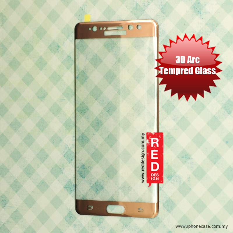 Picture of Factory OEM 3D Arc Full Screen Tempered Glass for Samsung Galaxy Note 7 Note FE 0.3mm - Gold Samsung Galaxy Note 7 Note FE- Samsung Galaxy Note 7 Note FE Cases, Samsung Galaxy Note 7 Note FE Covers, iPad Cases and a wide selection of Samsung Galaxy Note 7 Note FE Accessories in Malaysia, Sabah, Sarawak and Singapore