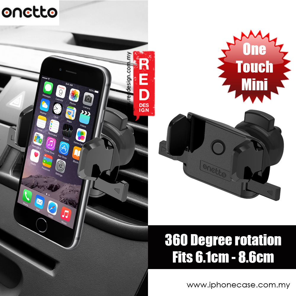 Picture of Onetto Air Vent Mount One Touch Mini Car Vent Mount (Black)
