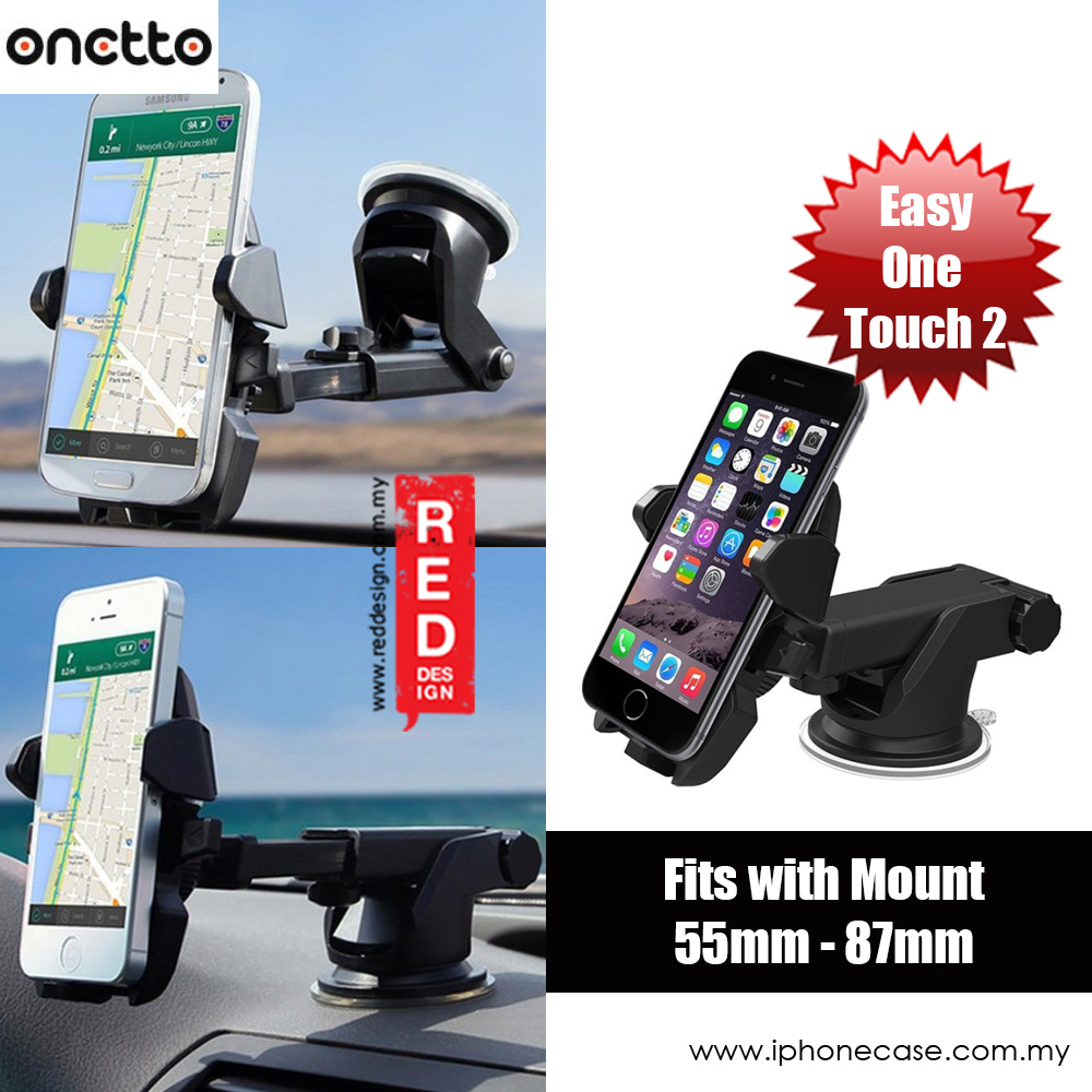 Picture of Onetto Easy One Touch 2 Car Desk Mount Car Windscreen Mount (Black) Red Design- Red Design Cases, Red Design Covers, iPad Cases and a wide selection of Red Design Accessories in Malaysia, Sabah, Sarawak and Singapore