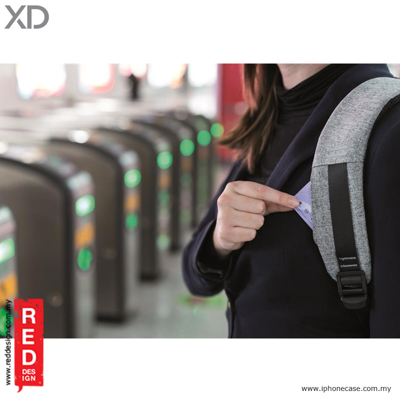Picture of XD Design Bobby Anti Theft Backpack - Grey