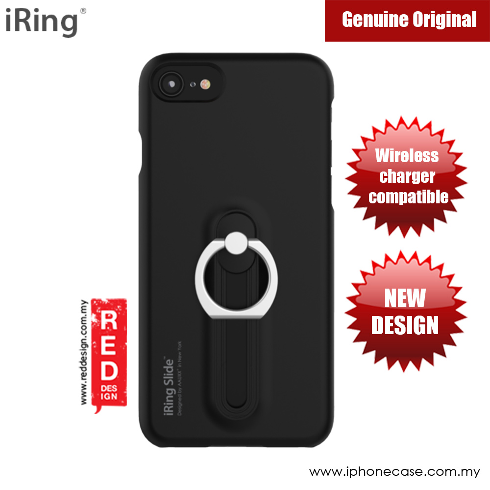 Picture of iRing Slide Built in iRing  for Apple iPhone 7 iPhone 8 (Black) Apple iPhone 7 4.7- Apple iPhone 7 4.7 Cases, Apple iPhone 7 4.7 Covers, iPad Cases and a wide selection of Apple iPhone 7 4.7 Accessories in Malaysia, Sabah, Sarawak and Singapore