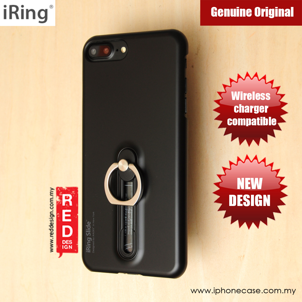 Picture of iRing Slide Built in iRing  for Apple iPhone 7 Plus 8 Plus 5.5 (Black) Apple iPhone 8 Plus- Apple iPhone 8 Plus Cases, Apple iPhone 8 Plus Covers, iPad Cases and a wide selection of Apple iPhone 8 Plus Accessories in Malaysia, Sabah, Sarawak and Singapore