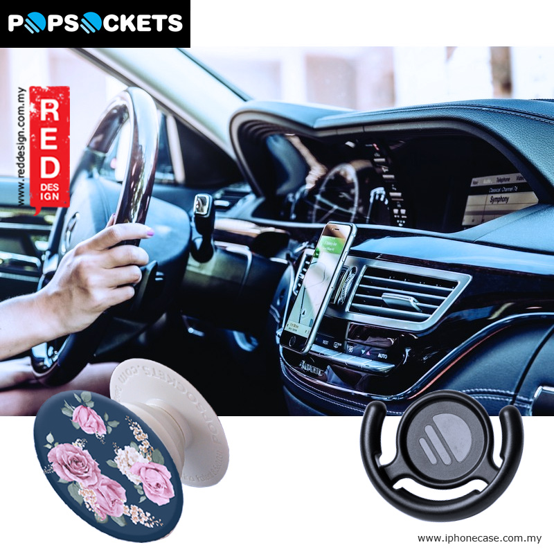 Picture of Popsockets A Phone Grip A Phone Stand An Earbud Management System - Vintage Perfume with Popclip Red Design- Red Design Cases, Red Design Covers, iPad Cases and a wide selection of Red Design Accessories in Malaysia, Sabah, Sarawak and Singapore
