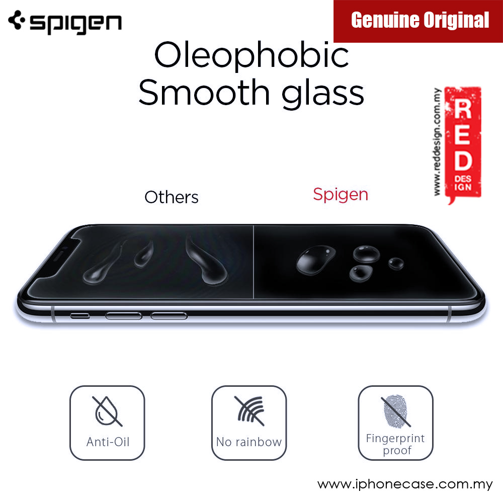 Picture of Apple iPhone X Screen Protector | Spigen Screen Protector Tempered Glass GLAS.tR SLIM HD for Apple iPhone X (1pcs Pack)