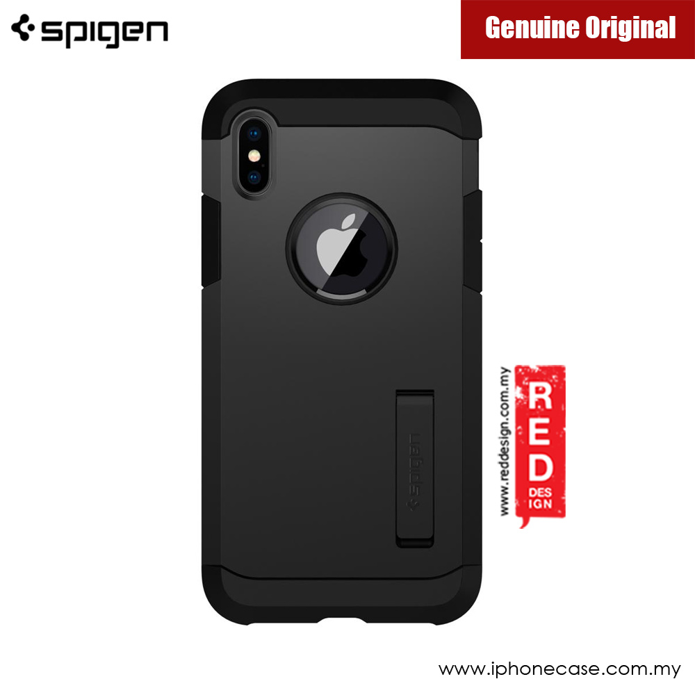 Picture of Apple iPhone X Case | Spigen Tough Armor Protection Case for Apple iPhone X (Black)
