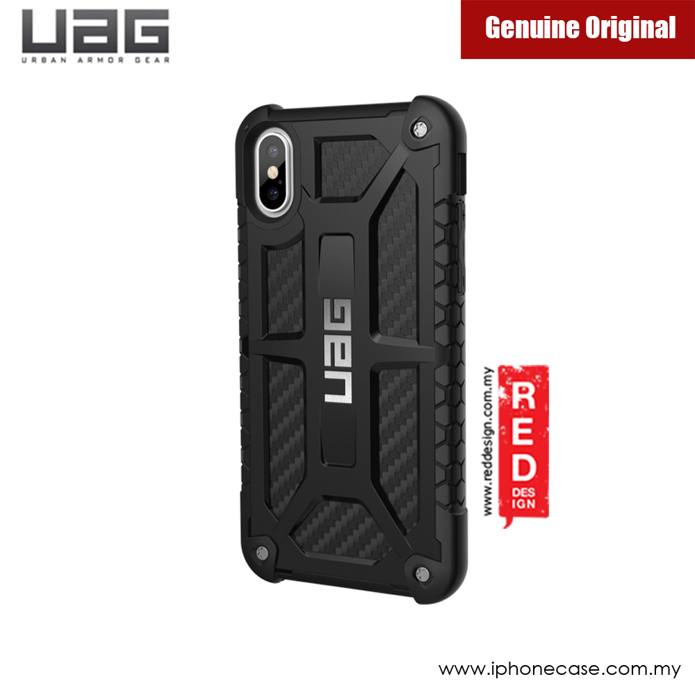 Picture of UAG Monarch Series Case for Apple iPhone X (Carbon Fiber) Malaysia Singapore: Apple iPhone X- Apple iPhone X Cases, Apple iPhone X Covers, iPad Cases and a wide selection of Apple iPhone X Accessories in Malaysia, Sabah, Sarawak and Singapore