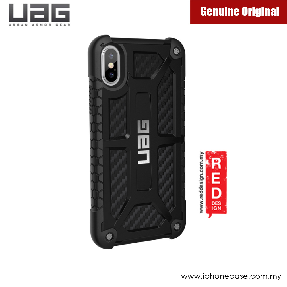 Picture of Apple iPhone X Case | UAG Monarch Series Case for Apple iPhone X (Carbon Fiber)