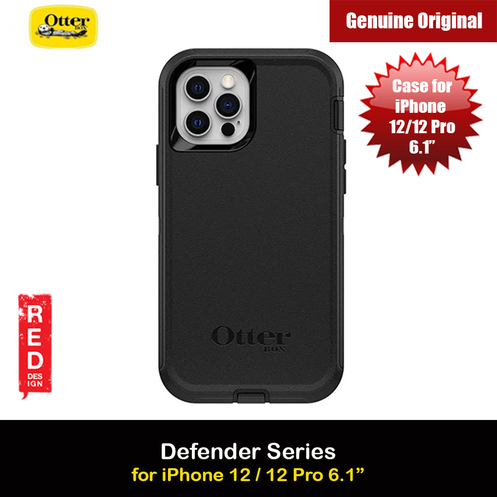 Picture of Otterbox Defender Series Protection Case for iPhone 12 iPhone 12 Pro 6.1 (Black) Apple iPhone 12 6.1- Apple iPhone 12 6.1 Cases, Apple iPhone 12 6.1 Covers, iPad Cases and a wide selection of Apple iPhone 12 6.1 Accessories in Malaysia, Sabah, Sarawak and Singapore