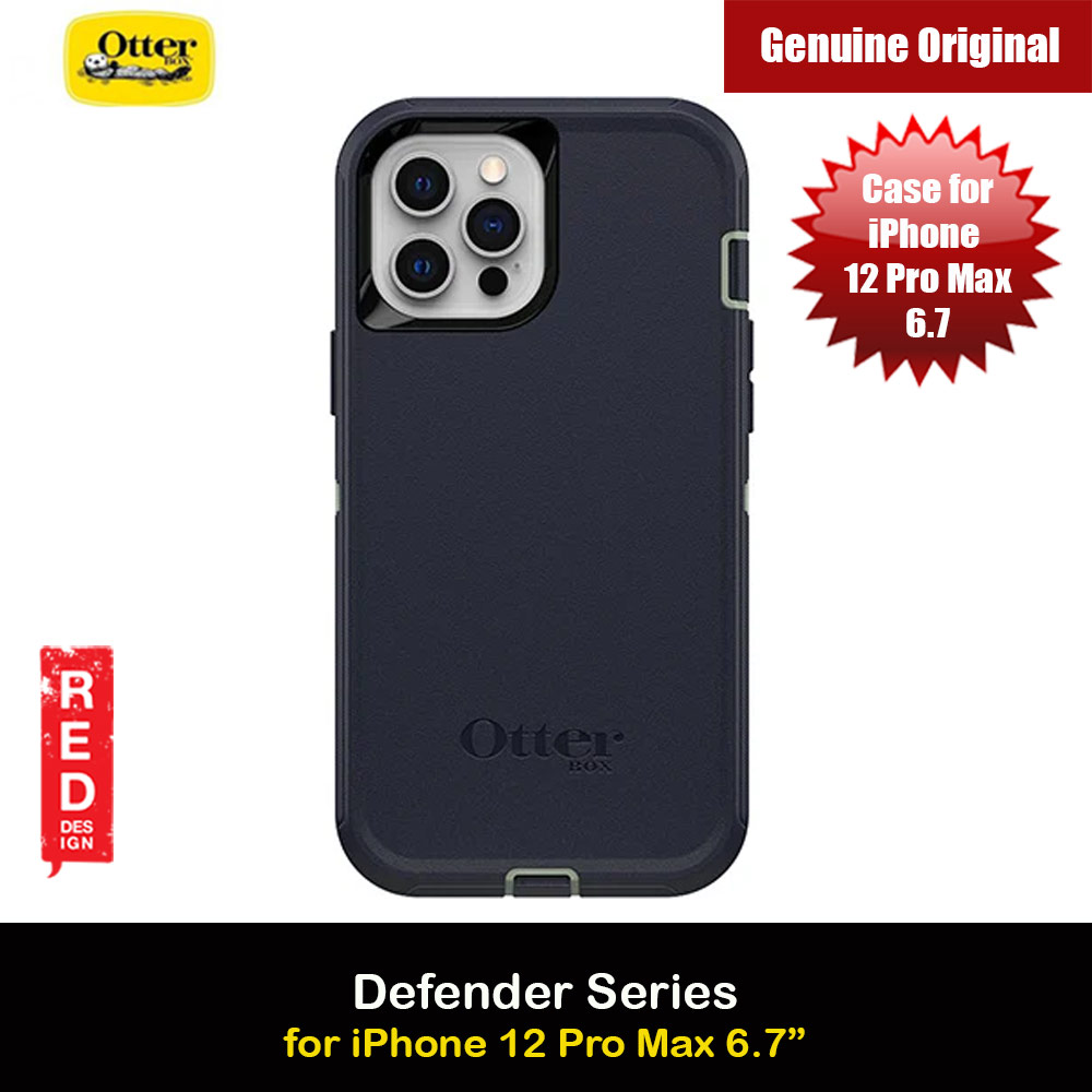 Picture of Otterbox Defender Series Protection Case for iPhone 12 Pro Max 6.7 (Varsity Blues) Apple iPhone 12 Pro Max 6.7- Apple iPhone 12 Pro Max 6.7 Cases, Apple iPhone 12 Pro Max 6.7 Covers, iPad Cases and a wide selection of Apple iPhone 12 Pro Max 6.7 Accessories in Malaysia, Sabah, Sarawak and Singapore