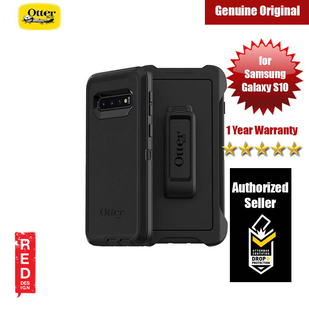 Picture of Otterbox Defender Series Protection Case for Samsung Galaxy S10 (Black) Samsung Galaxy S10- Samsung Galaxy S10 Cases, Samsung Galaxy S10 Covers, iPad Cases and a wide selection of Samsung Galaxy S10 Accessories in Malaysia, Sabah, Sarawak and Singapore