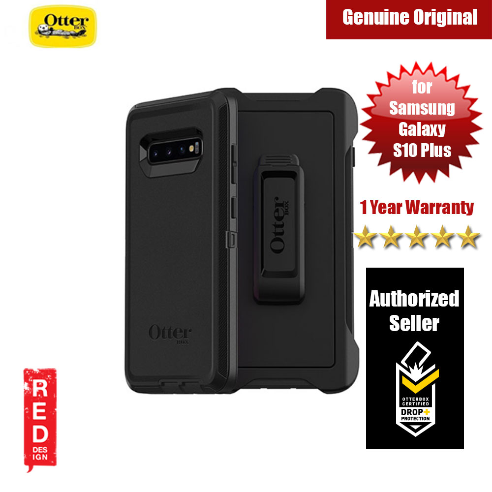 Picture of Otterbox Defender Series Protection Case for Samsung Galaxy S10 Plus (Black) Samsung Galaxy S10 Plus- Samsung Galaxy S10 Plus Cases, Samsung Galaxy S10 Plus Covers, iPad Cases and a wide selection of Samsung Galaxy S10 Plus Accessories in Malaysia, Sabah, Sarawak and Singapore