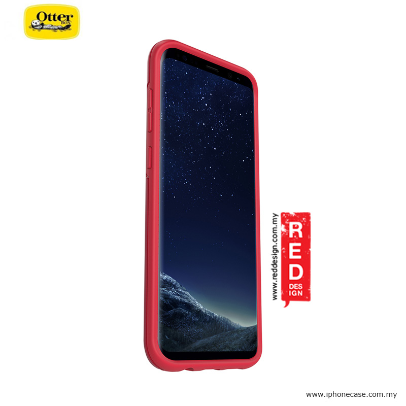 Picture of Samsung Galaxy S8 Plus Case | Otterbox Symmetry Series Protection Case for Samsung Galaxy S8 Plus - Rosso Corsa