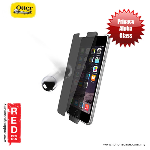 Picture of Otterbox Alpha Glass Screen Protector for iPhone 6 Plus 5.5 iPhone 6S Plus 5.5 - Privacy Apple iPhone 6S Plus 5.5- Apple iPhone 6S Plus 5.5 Cases, Apple iPhone 6S Plus 5.5 Covers, iPad Cases and a wide selection of Apple iPhone 6S Plus 5.5 Accessories in Malaysia, Sabah, Sarawak and Singapore