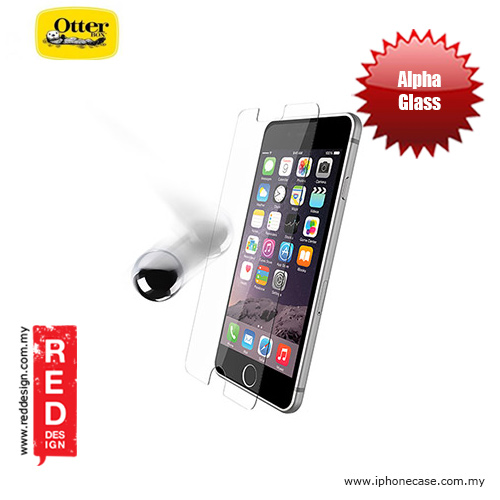 Picture of Otterbox Alpha Glass Screen Protector for iPhone 6 Plus 5.5 iPhone 6S Plus 5.5 - Clear Apple iPhone 6 Plus 5.5- Apple iPhone 6 Plus 5.5 Cases, Apple iPhone 6 Plus 5.5 Covers, iPad Cases and a wide selection of Apple iPhone 6 Plus 5.5 Accessories in Malaysia, Sabah, Sarawak and Singapore