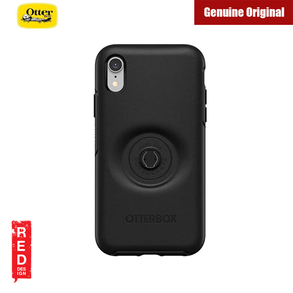 Picture of Apple iPhone XR  | Otterbox Otter + Pop Symmetry Series for iPhone XR (Black)