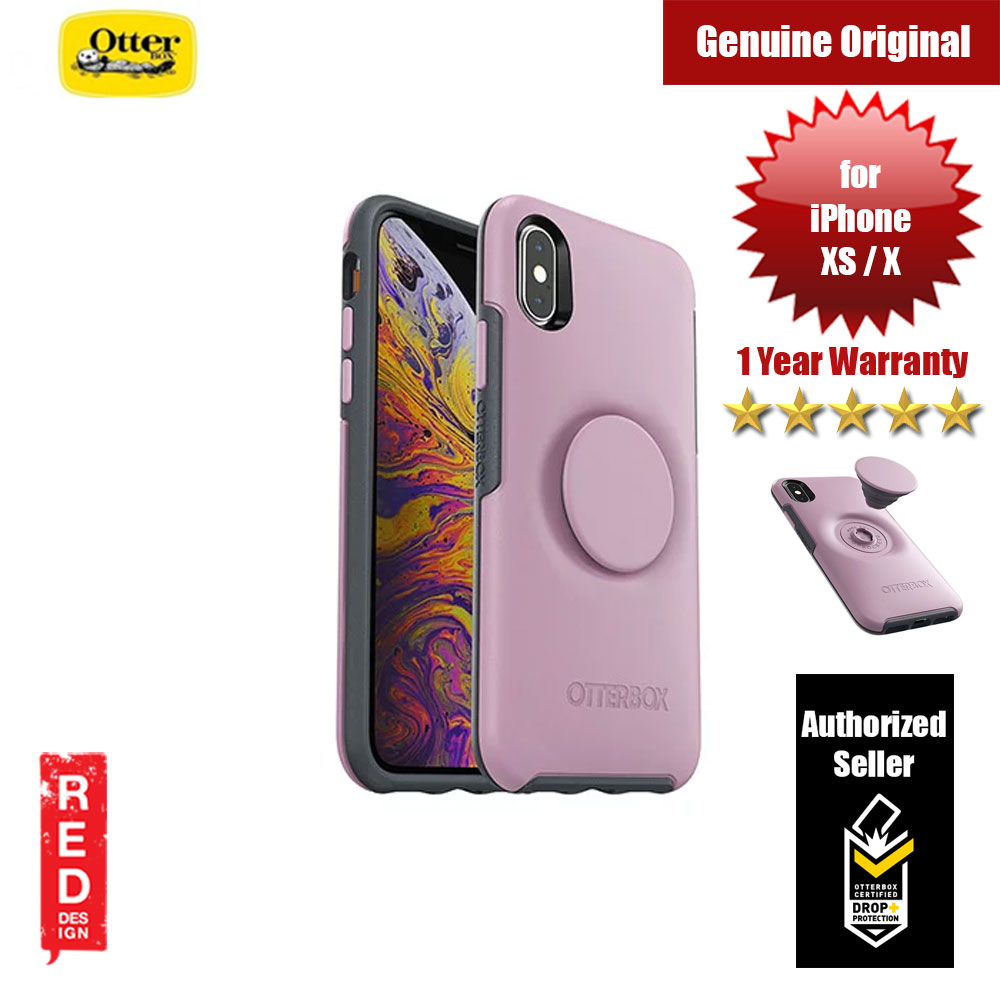 Picture of Otterbox Otter + Pop Symmetry Series for iPhone Xs iPhone X (Mauveolous) Apple iPhone XS- Apple iPhone XS Cases, Apple iPhone XS Covers, iPad Cases and a wide selection of Apple iPhone XS Accessories in Malaysia, Sabah, Sarawak and Singapore