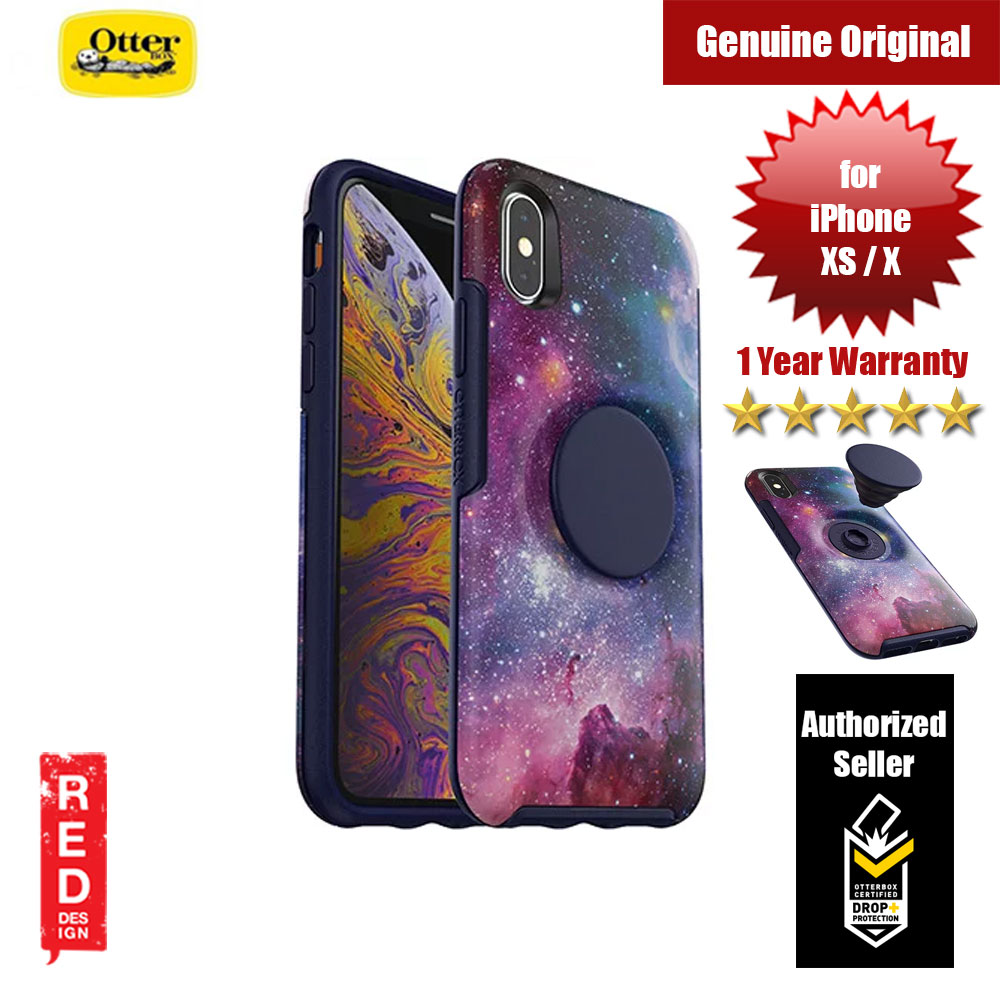 Picture of Otterbox Otter + Pop Symmetry Series for iPhone Xs iPhone X (Blue Nebula) Apple iPhone XS- Apple iPhone XS Cases, Apple iPhone XS Covers, iPad Cases and a wide selection of Apple iPhone XS Accessories in Malaysia, Sabah, Sarawak and Singapore