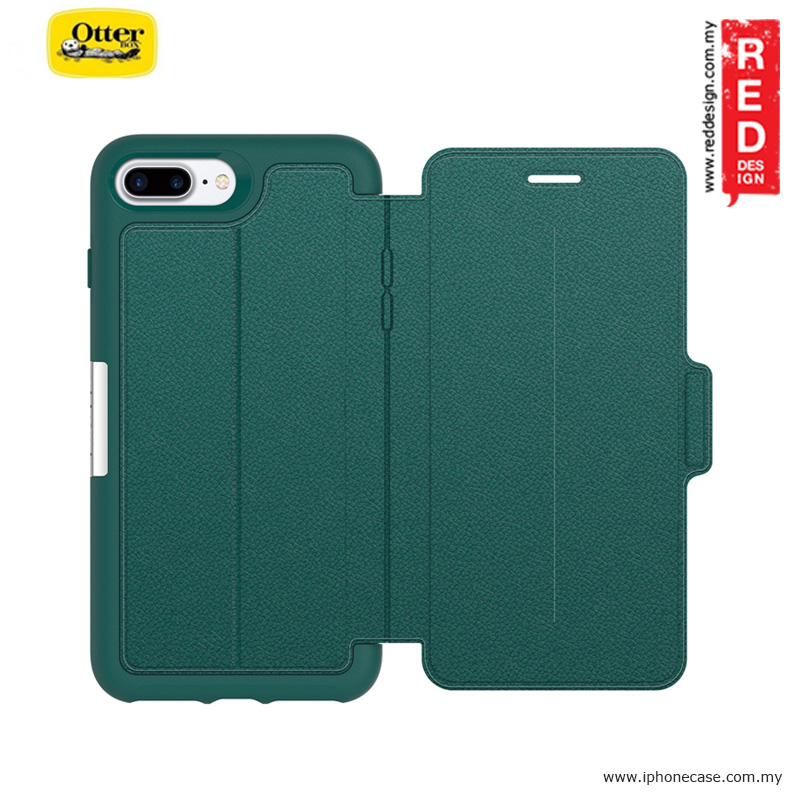 low priced 82e18 4550c Otterbox Strada Series Folio Premium Leather Protection Case for Apple  iPhone 7 Plus iPhone 8 Plus 5.5 - Pacific Opal