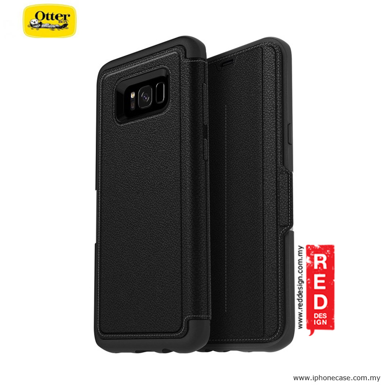 Picture of Otterbox Strada Series Protection Flip Case for Samsung Galaxy S8 Plus - Onxy Samsung Galaxy S8 Plus- Samsung Galaxy S8 Plus Cases, Samsung Galaxy S8 Plus Covers, iPad Cases and a wide selection of Samsung Galaxy S8 Plus Accessories in Malaysia, Sabah, Sarawak and Singapore