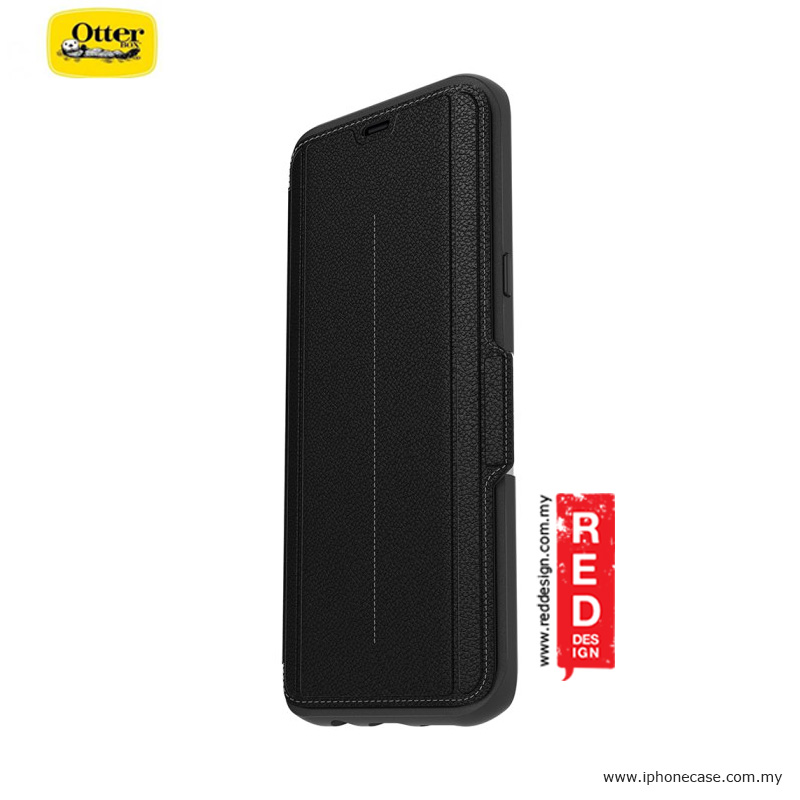 new style 70232 2276a Otterbox Strada Series Protection Flip Case for Samsung Galaxy S8 Plus -  Onxy